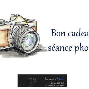Bon cadeau séance photos